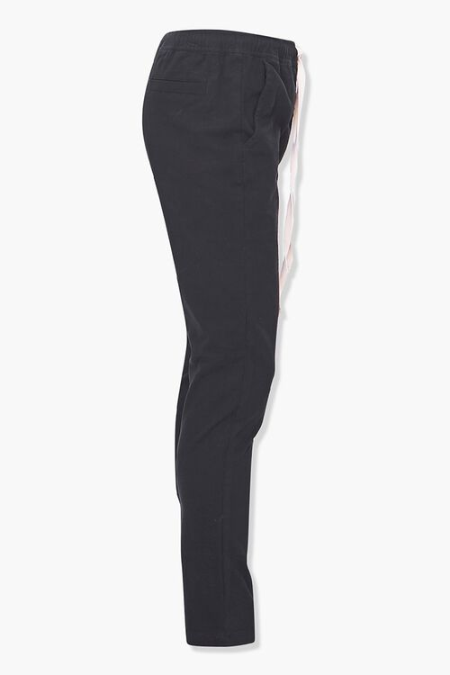 Drawstring Ankle-Zip Skinny Pants, image 2