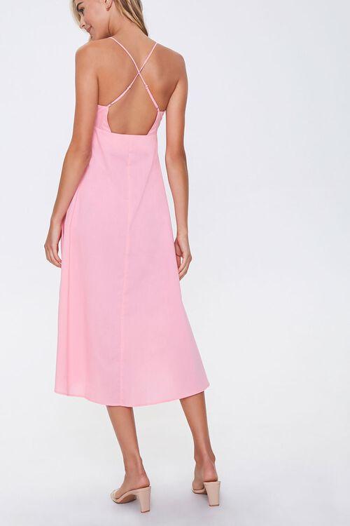 PINK Strappy-Back Cami Dress, image 3