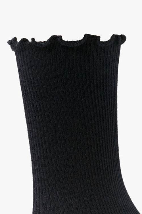 Lettuce-Edge Crew Socks, image 2