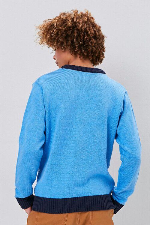Menorah Intarsia Knit Sweater, image 3