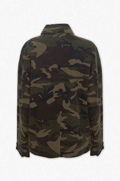 Camo Button-Down Jacket, image 2