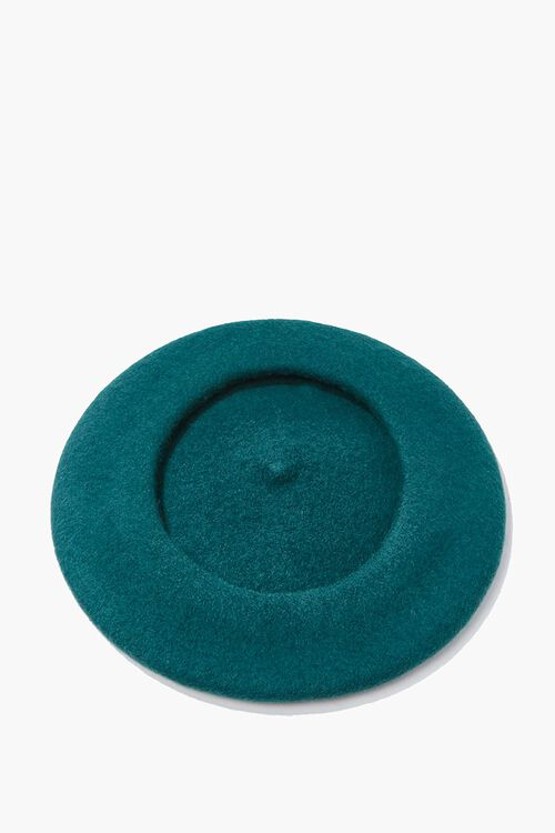 Classic Wool-Blend Beret, image 2