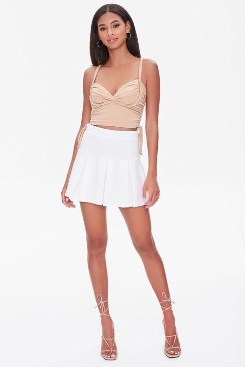 Pleated Mini Skirt, image 5