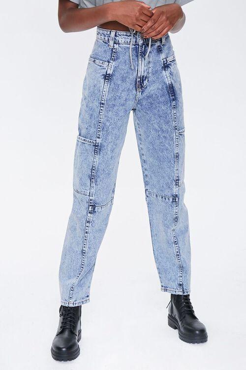 ACID DENIM Relaxed Acid Wash Jeans, image 2
