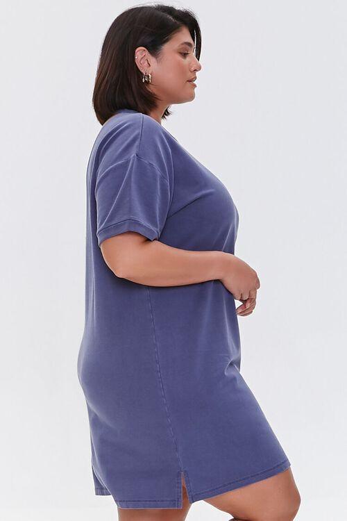 NAVY Plus Size Mini T-Shirt Dress, image 2