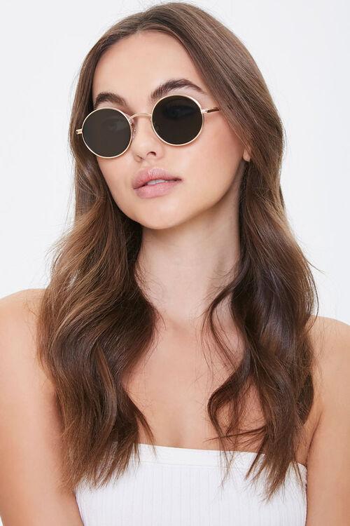 Premium Round Metal Sunglasses, image 1