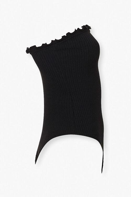 Lettuce-Edge Strapless Bodysuit, image 2