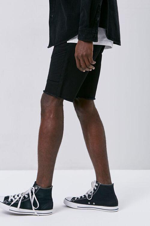 Frayed Moto Shorts, image 3