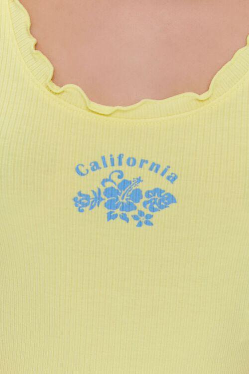 California Graphic Crop Top, image 5