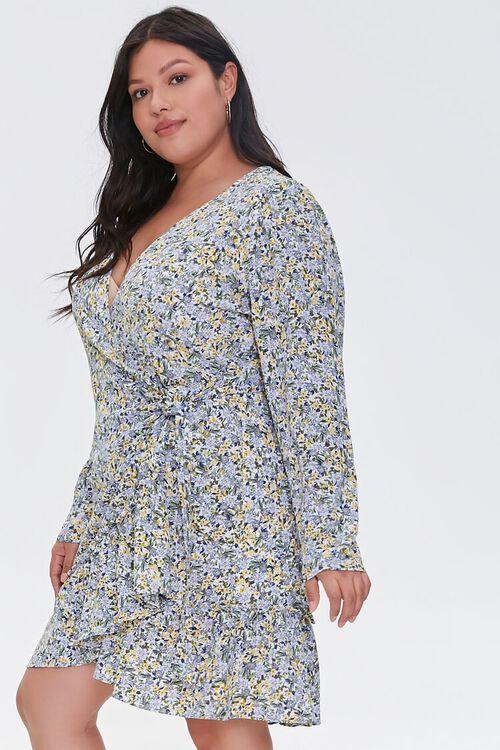 Plus Size Floral Print Dress, image 2