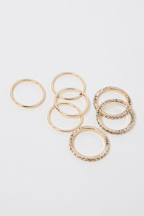 Rhinestone Ring Set, image 1