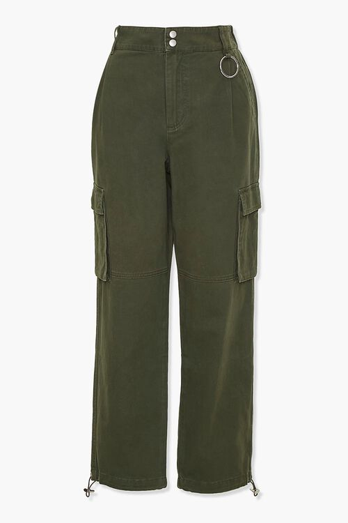 Drawstring Cargo Pants, image 1