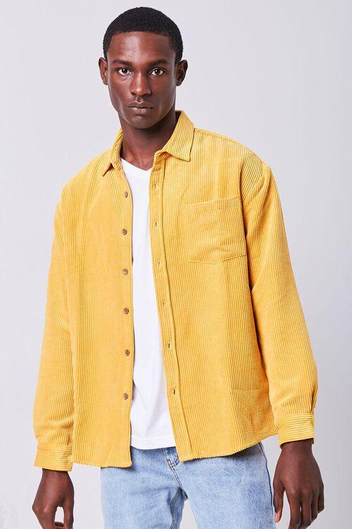 Classic Fit Corduroy Shirt, image 1