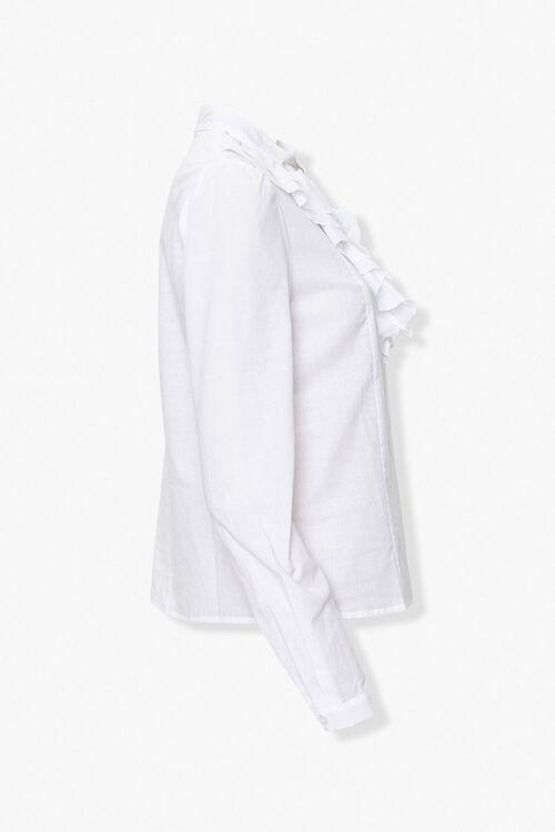 Cotton Ruffle Shirt, image 2