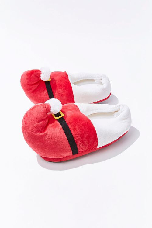 Plush Santa Slippers, image 1