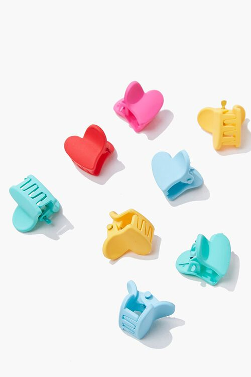 Heart Claw Hair Clips, image 2