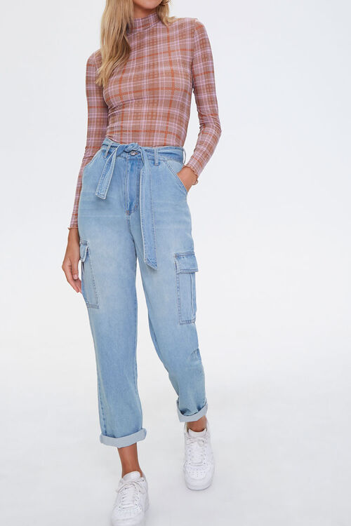Paperbag Cargo Jeans, image 1