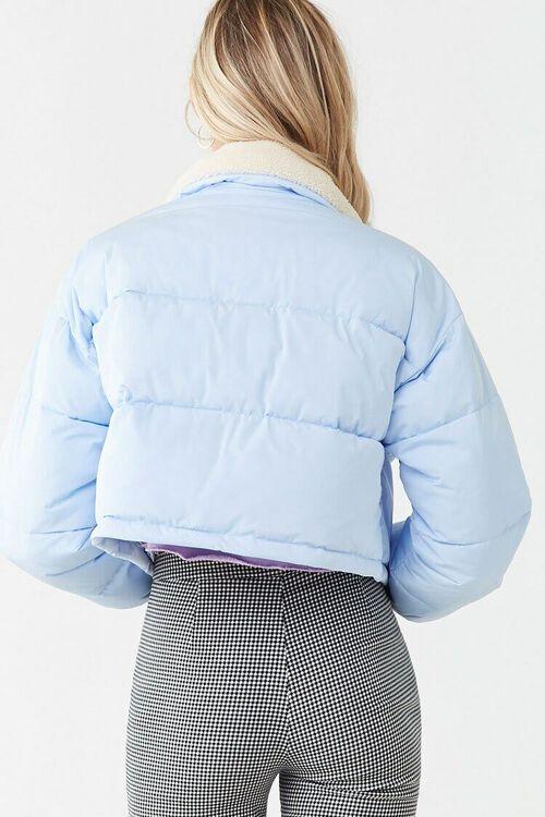Faux Shearling-Trim Puffer Jacket, image 3