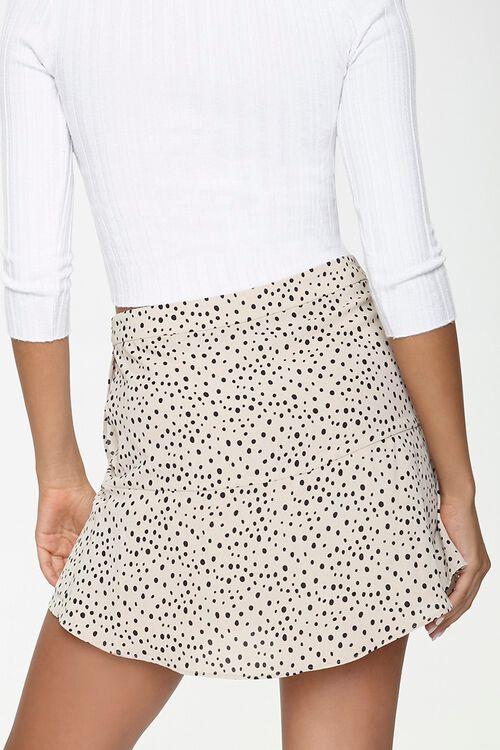 Spotted Print Mini Skirt, image 4
