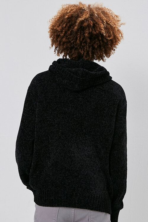 Chenille Sweater-Knit Hoodie, image 3