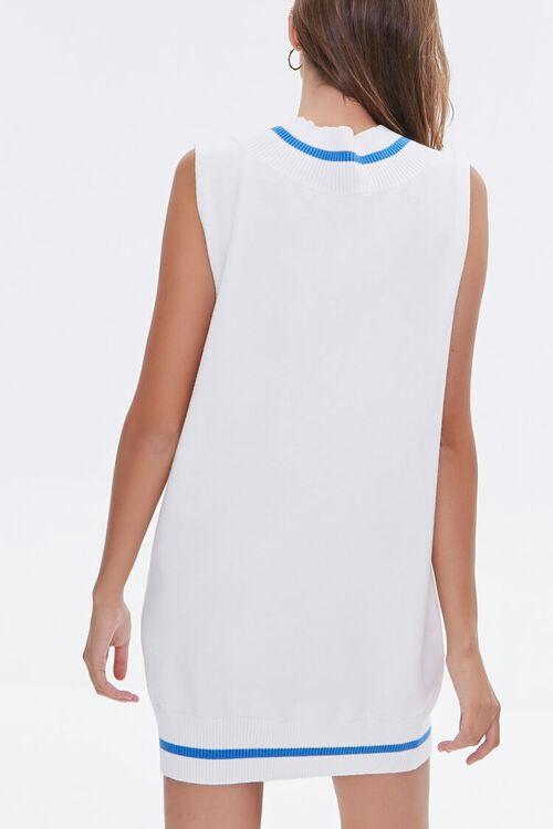 Striped-Trim Sweater Vest Dress, image 3