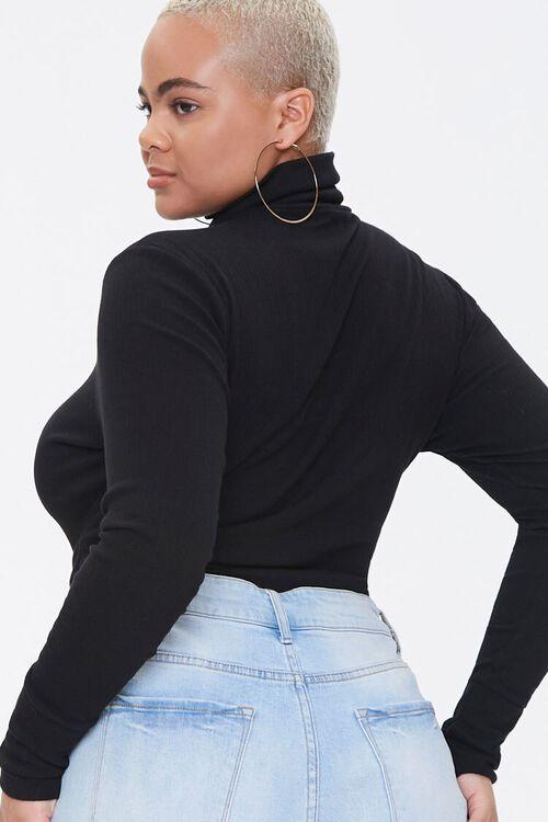 Plus Size Soho Mock Neck Bodysuit, image 3