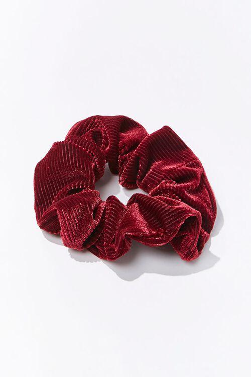 Ribbed Velvet Scrunchie, image 1
