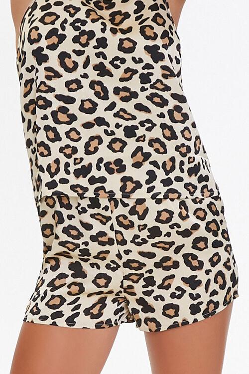 Leopard Print Cami & Shorts Set, image 5