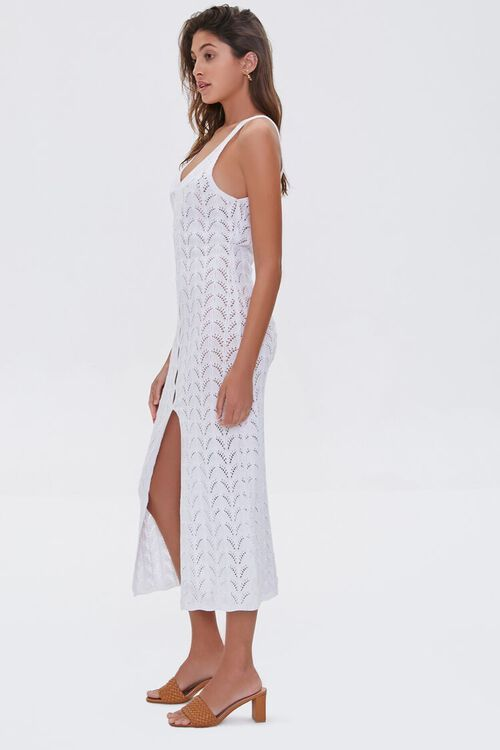 Pointelle Knit Midi Dress, image 2