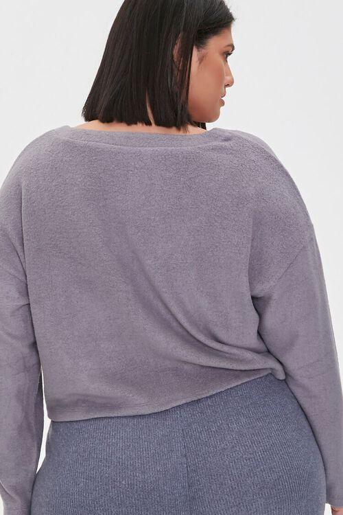 Plus Size Cardigan Sweater, image 3