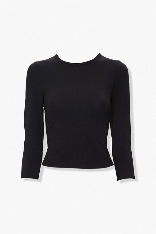 Lace-Up Back Top, image 4