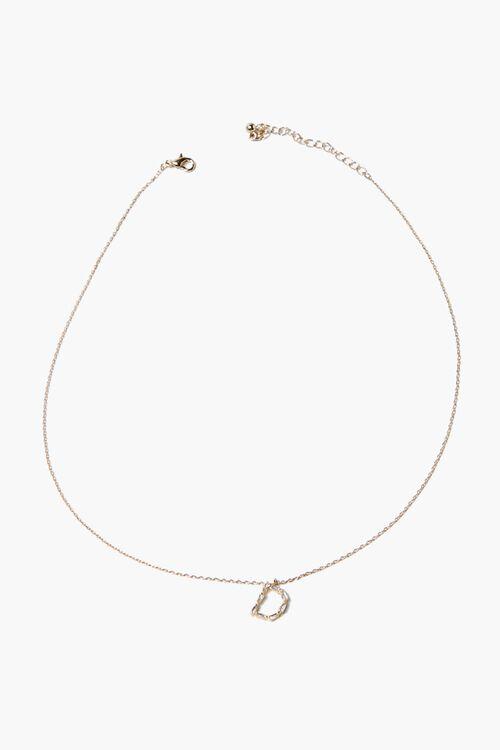 Letter Pendant Necklace, image 2