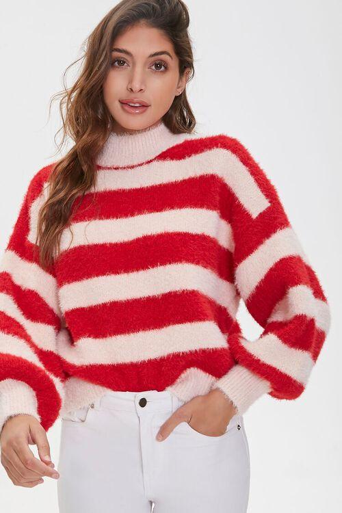 Fuzzy Turtleneck Sweater, image 1