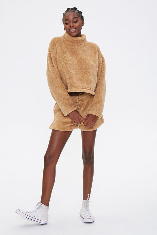 Plush Turtleneck Pullover, image 4