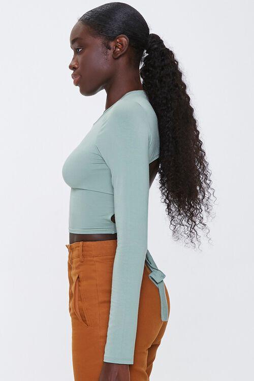 Tie-Back Crop Top, image 2