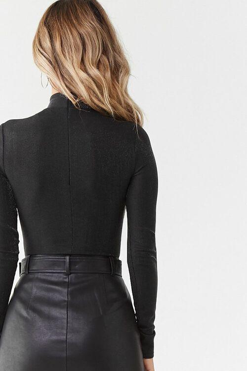Metallic Knit Bodysuit, image 4