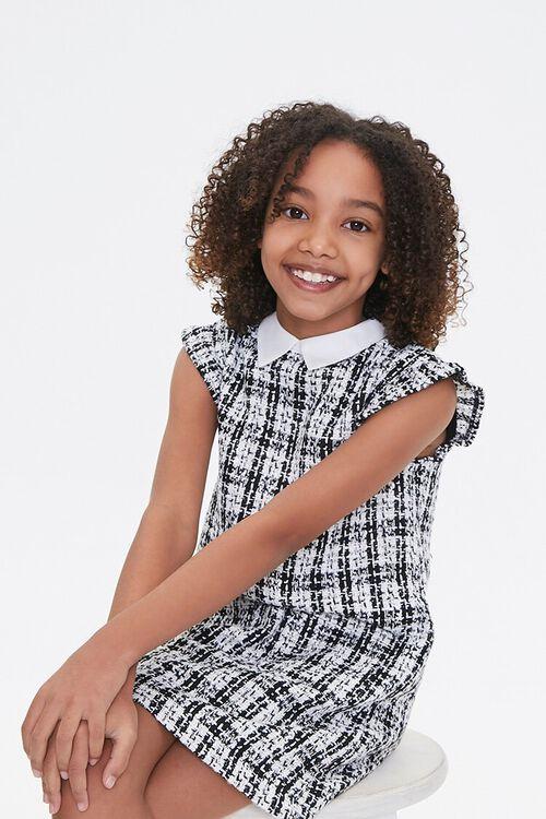 Girls Tweed Mini Dress (Kids), image 1