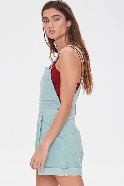 Corduroy Overall Shorts, image 2