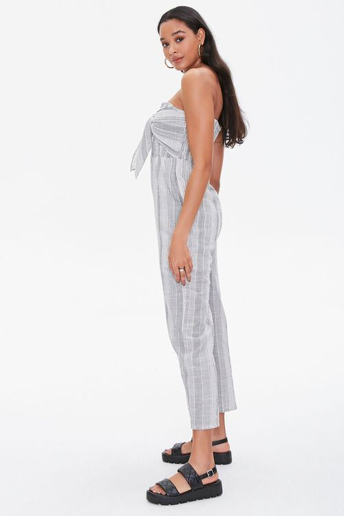 Striped Tie-Front Jumpsuit, image 2