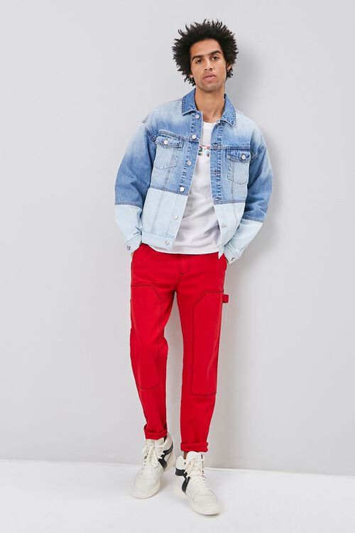 Two-Toned Denim Jacket, image 1