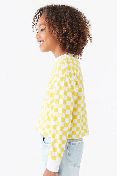 Girls Checkered Tee (Kids), image 2