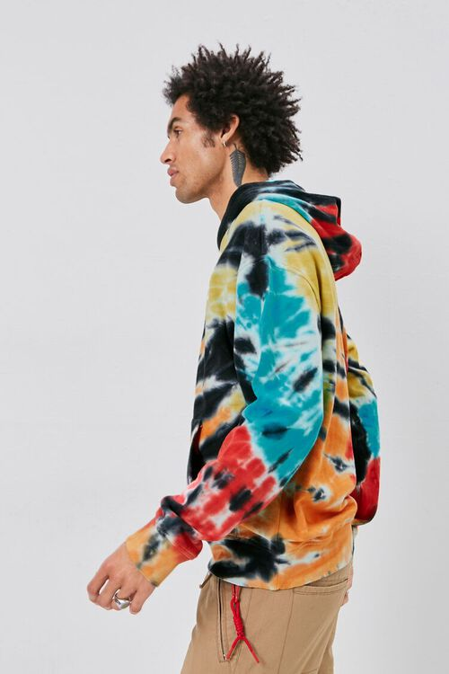 Tie-Dye French Terry Hoodie, image 2