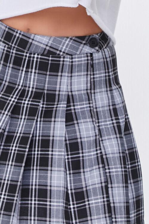 Pleated Plaid Mini Skirt, image 5