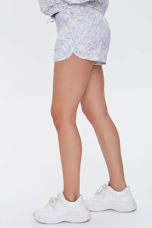 Active Floral Print Shorts, image 3
