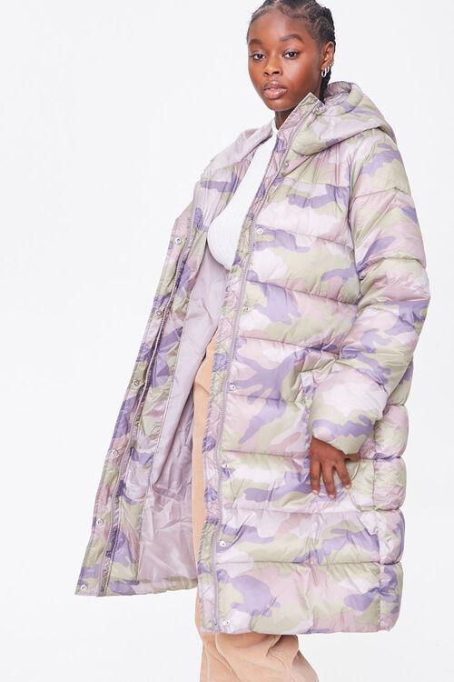 Longline Camo Puffer Jacket, image 5