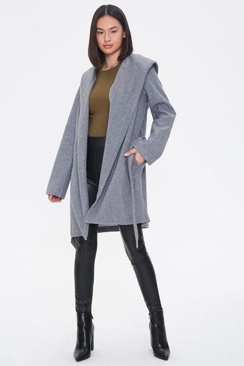 Hooded Wrap Jacket, image 4