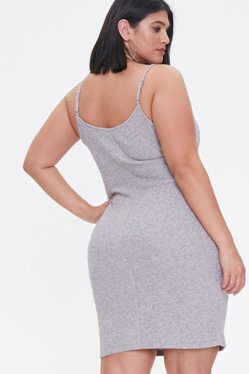 Plus Size Ribbed Cami Dress, image 3
