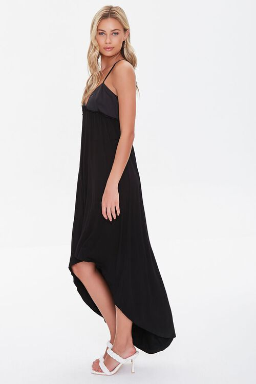 BLACK High-Low Empire Dress, image 2