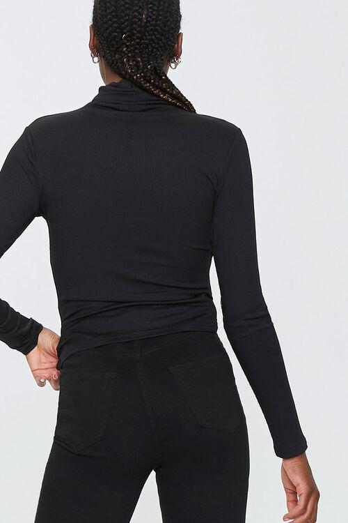 Turtleneck Long-Sleeve Top, image 3