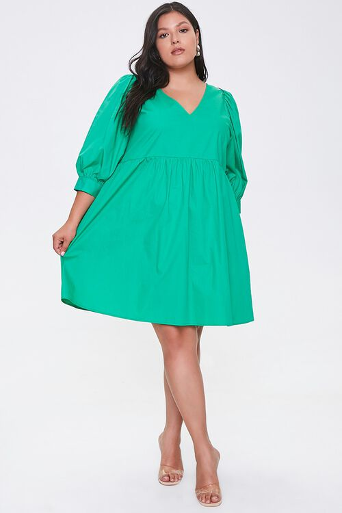 Plus Size Cutout Mini Dress, image 4